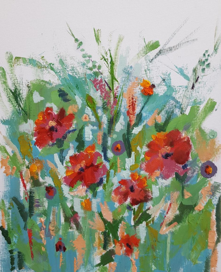 Floral 4 Unframed