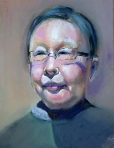 Mrs Wong - Oil Portrait