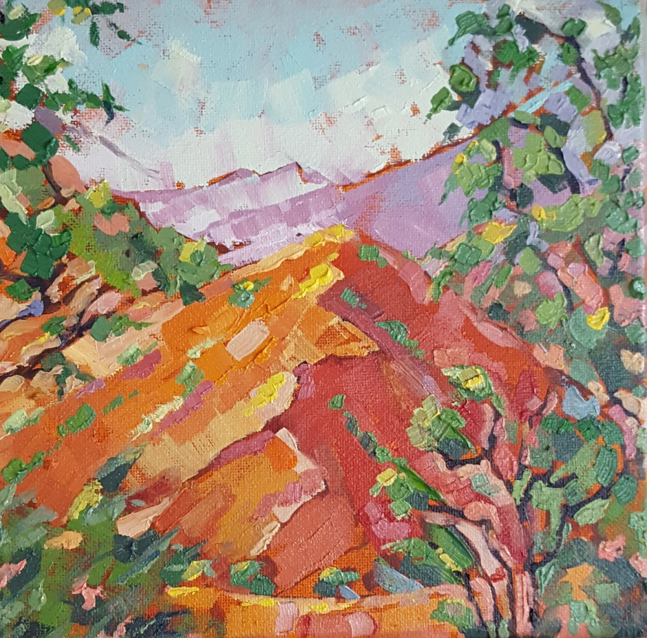 bhavna-misra-orange-hill-oil-painting