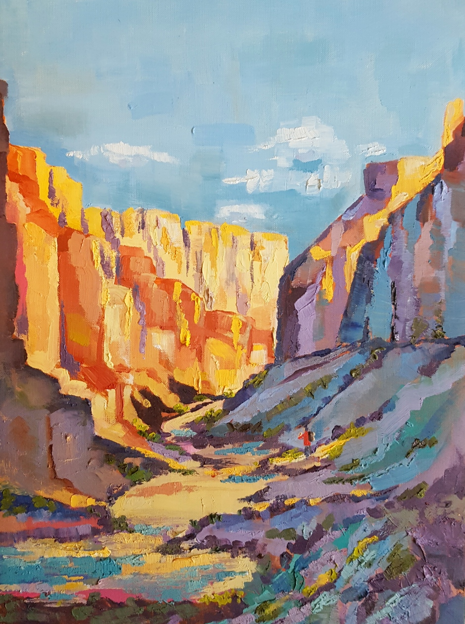 Bhavna Misra Colorado River Oil 2016