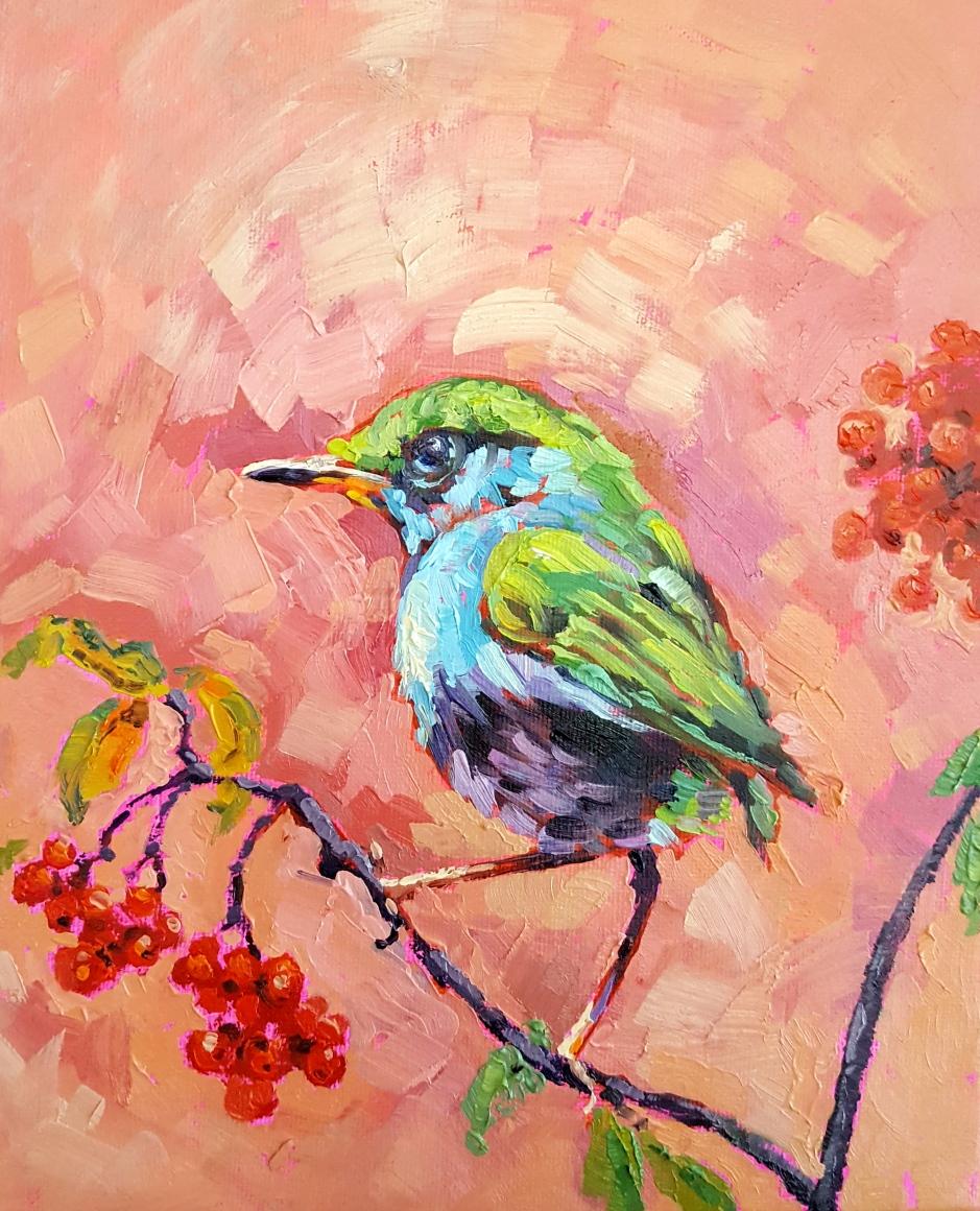 Bhavna Misra Oil Bird