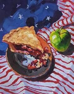 Bhavna Misra Apple Pie Oil 2017 Low Res