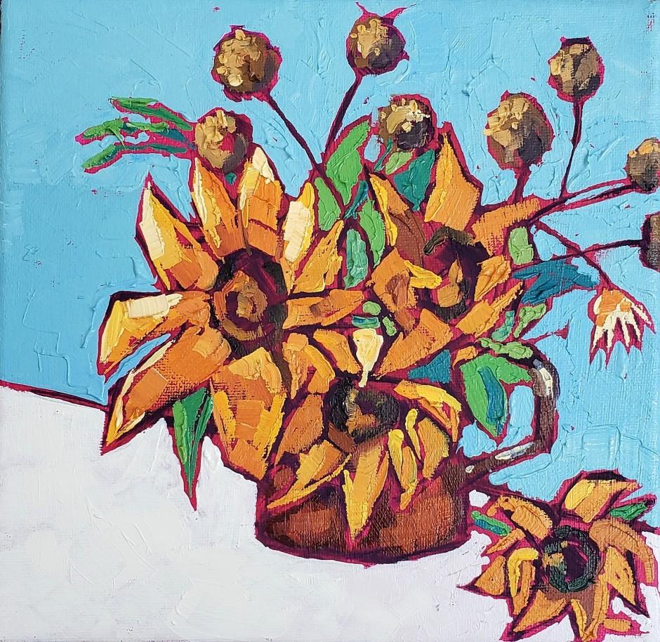 Bhavna Misra Sunflowers