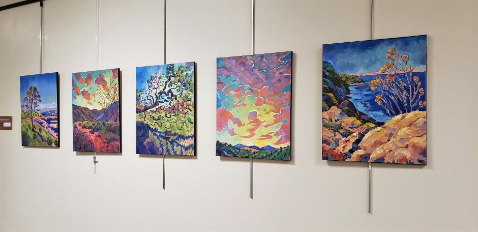 Bhavna Misra Oil 16 x 20 Display
